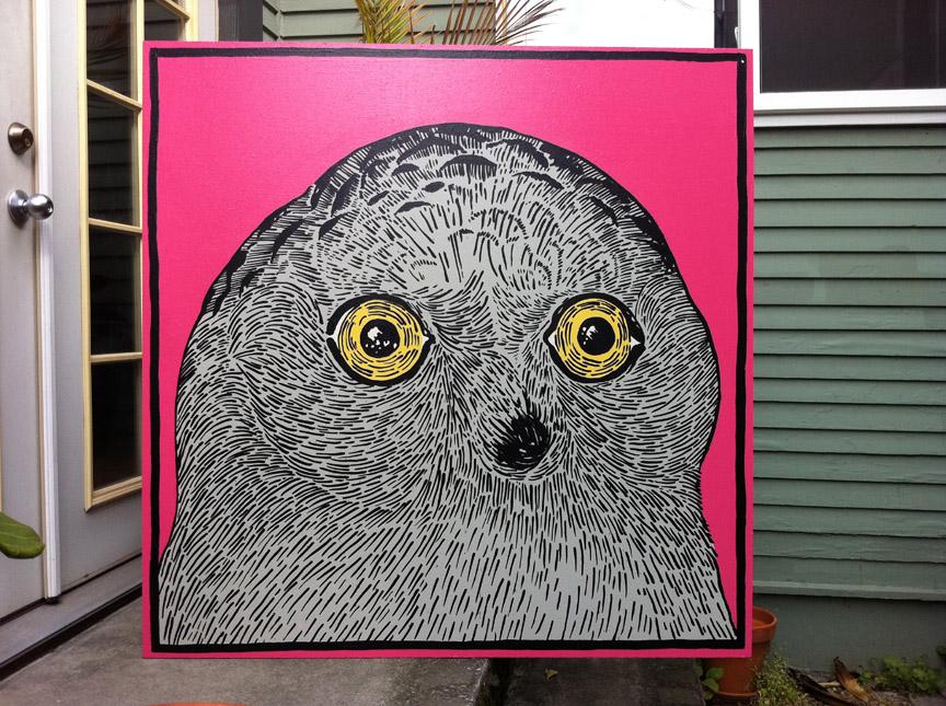 Owl 57 Pink Owl  57  Derek Erdman