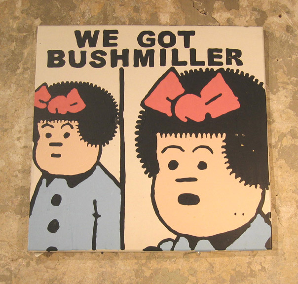 "www derekerdman com""We Got Bushmiller"" (Derek Erdman)"